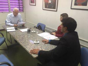 João da Luz se reúne com diretor da CELG para obter respostas sobre requerimentos