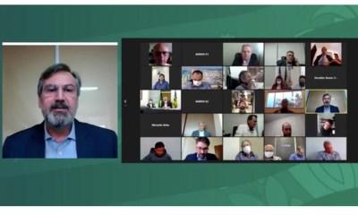 Procurador-geral de Justiça participa de videoconferência sobre Covid-19