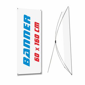 banner económico de 60 x 160 cm