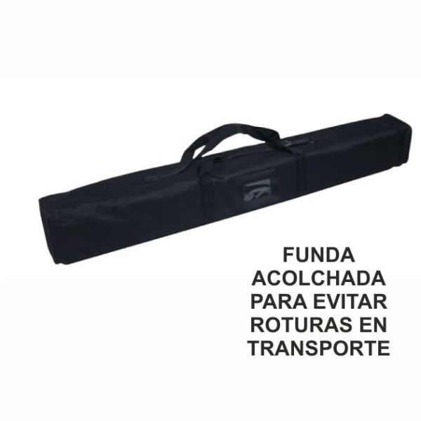 funda roll up acolchada