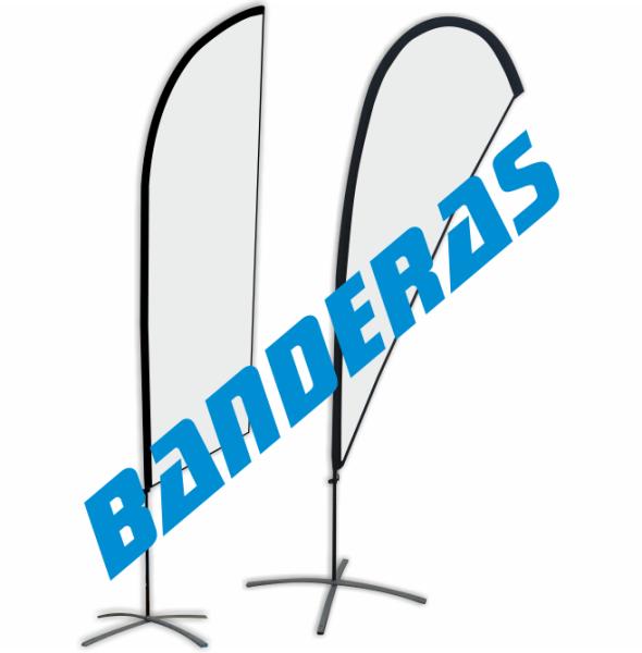 fly banner bandera playa gota lagrima
