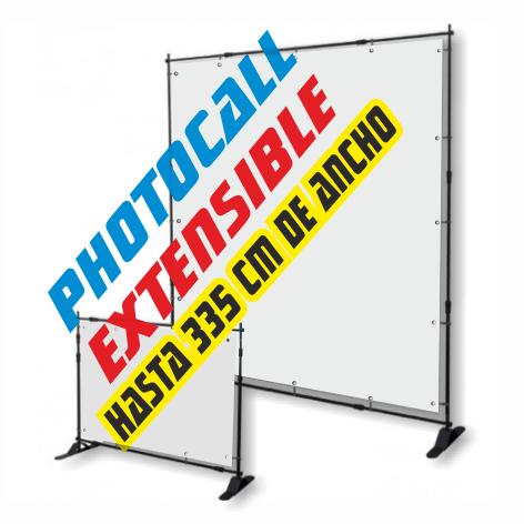 display extensible barato