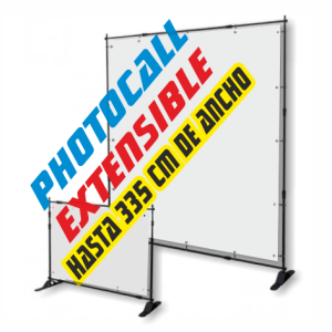 display extensible barato