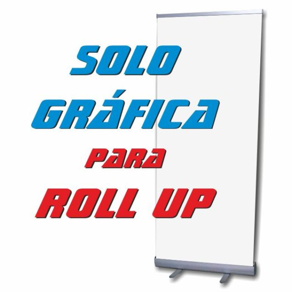 cartel para roll up