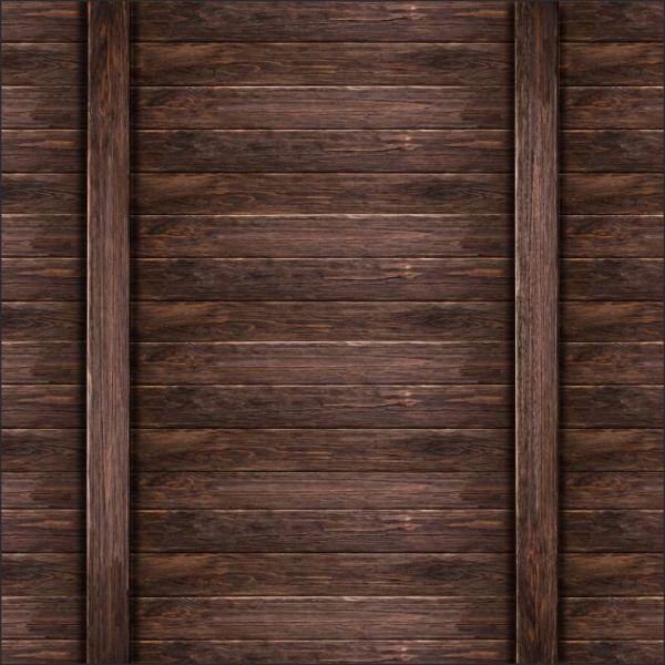 pegatina para la pared de madera oscura
