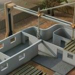 Arquitectura en 3D. Construcción en contornos
