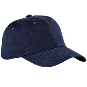 Navy blue baseball cap