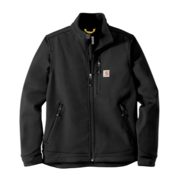 Black Carhartt Soft Shell Jacket