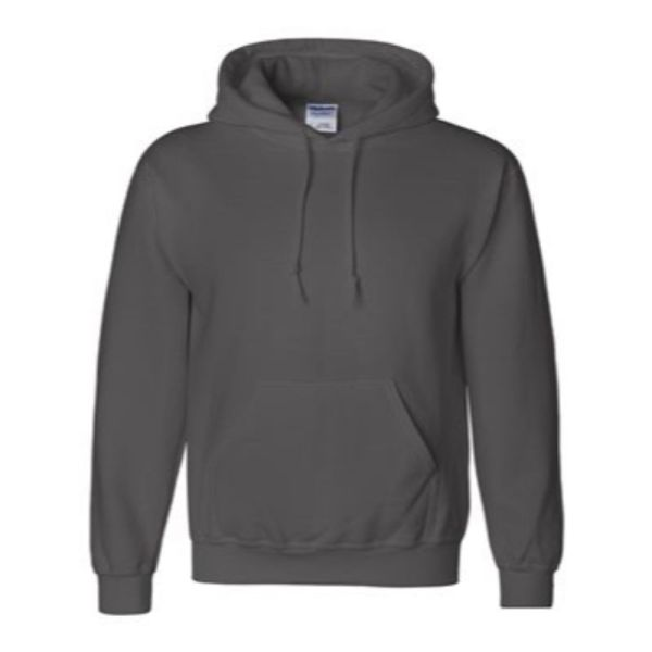 Hooded Sweatshirt, Charcoal