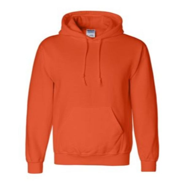 Hooded Sweatshirt, Orange