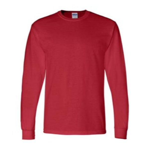 Long Sleeve Tee, Red