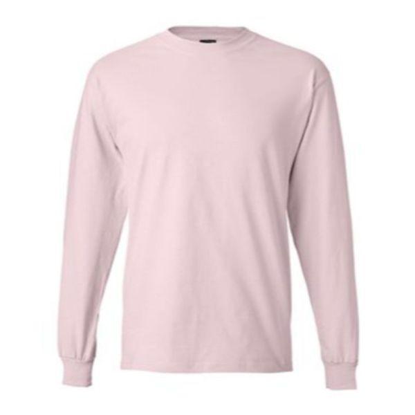 Long Sleeve Tee, Pale Pink