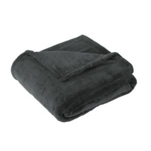Polyester Fleece Blanket, Graphite