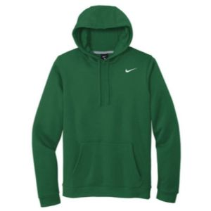 Nike Club Fleece Pullover Hoodie, Dark Green