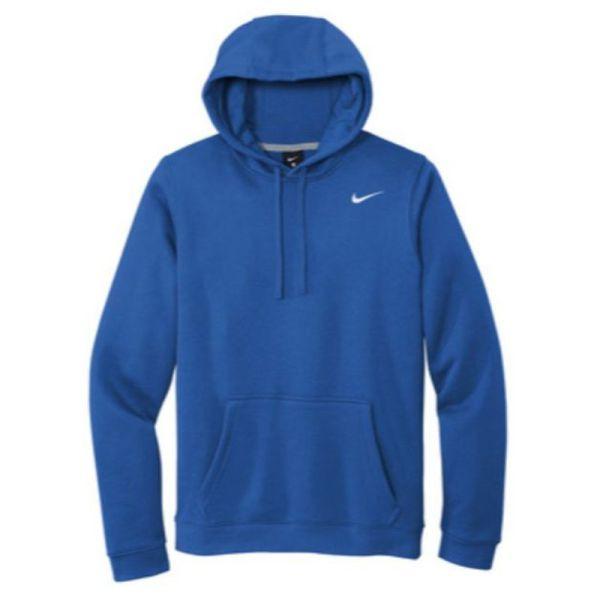 Nike Club Fleece Pullover Hoodie, Royal