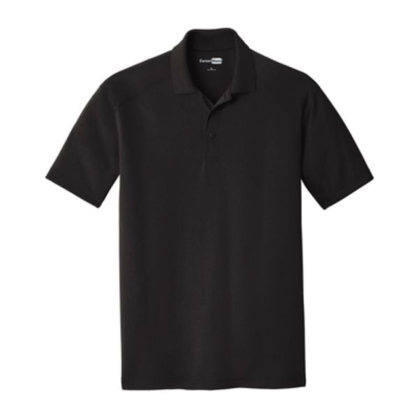 Snag-Proof Moisture-wicking Polo, Black