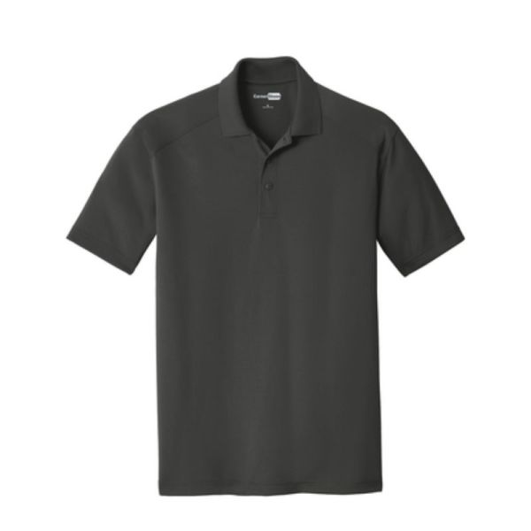 Snag-Proof Moisture-wicking Polo, Charcoal