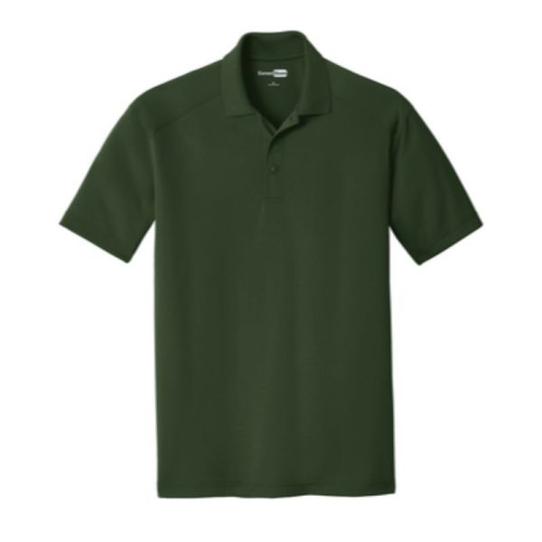 Snag-Proof Moisture-wicking Polo, green