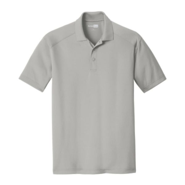 Snag-Proof Moisture-wicking Polo, Light Grey