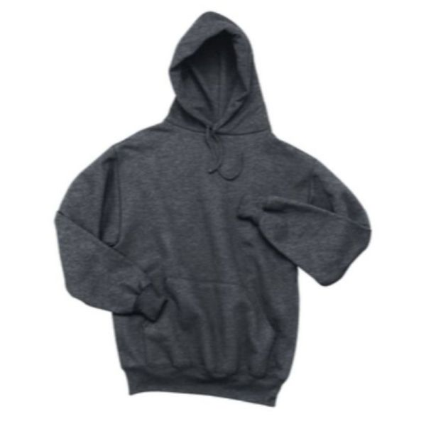 Sport-Tek® Super Heavyweight Pullover Hooded Sweatshirt, Graphite Heather