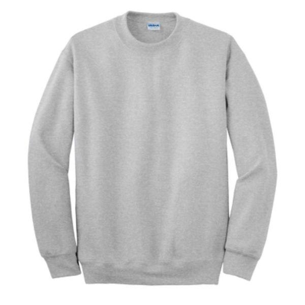 Gildan Crew Neck Sweatshirt, Ash