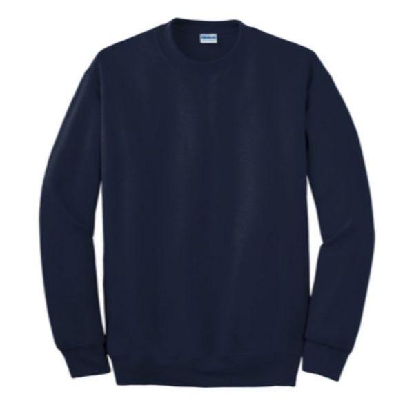 Gildan Crew Neck Sweatshirt, navy