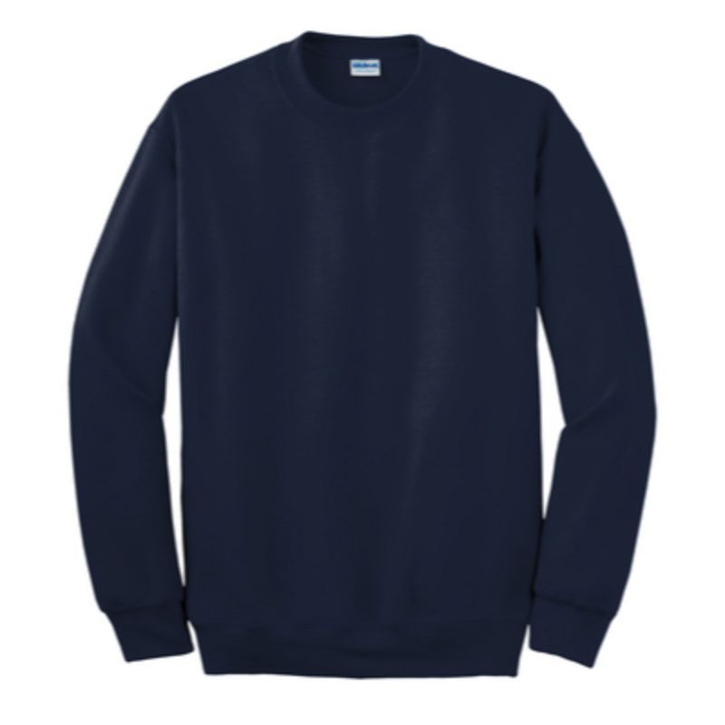 Gildan Crew Neck Sweatshirt, navy