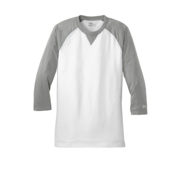 NEA121 Baseball Tee Grey Heather