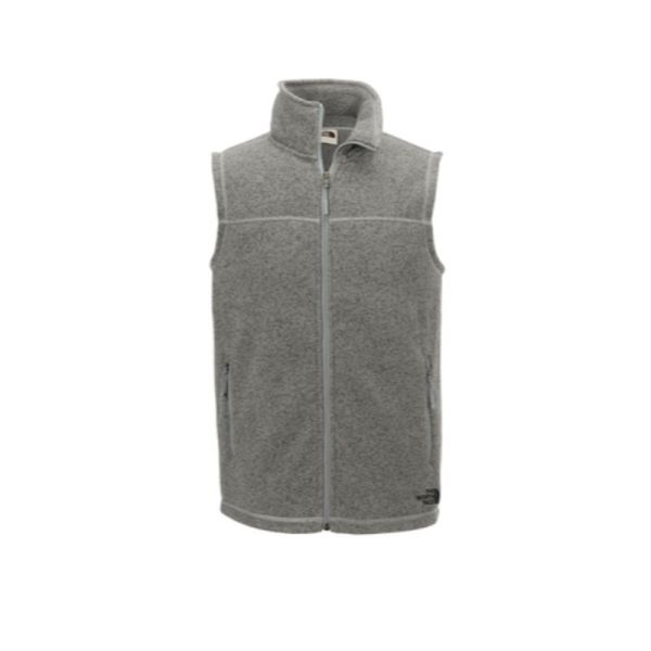 Full zip sweater vest, grey