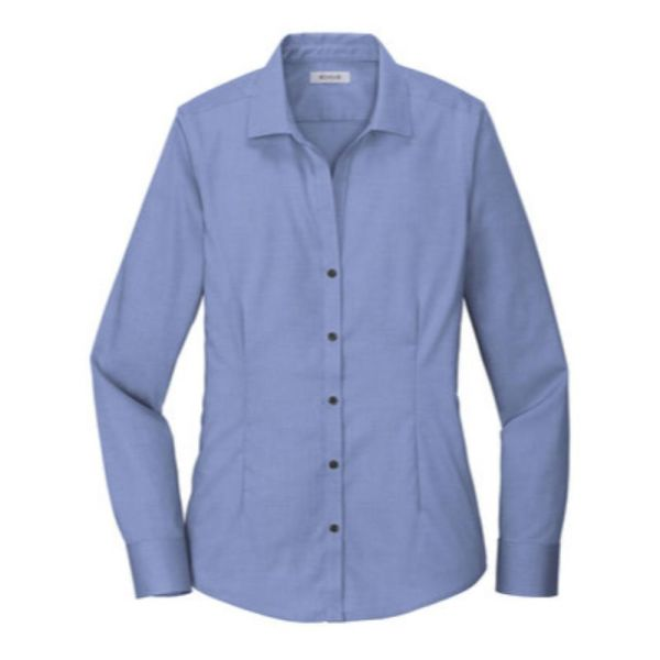 Ladies Dress Shirt Navy