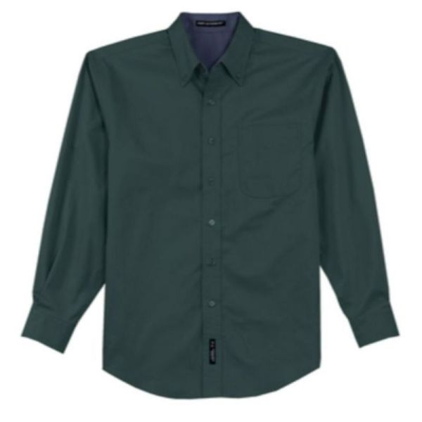 S608 Twill Dress Shirt DarkGreen