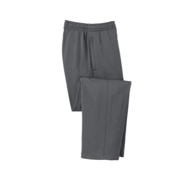 wicking sweatpants, grey