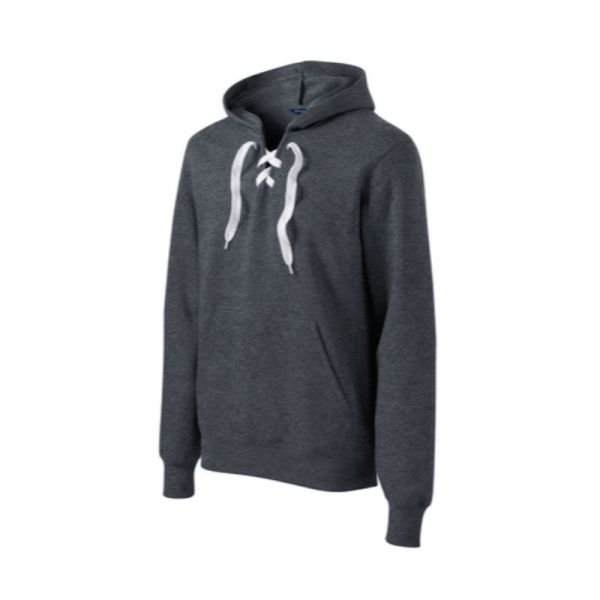 ST271 Laced Hoodie Graphite Heather