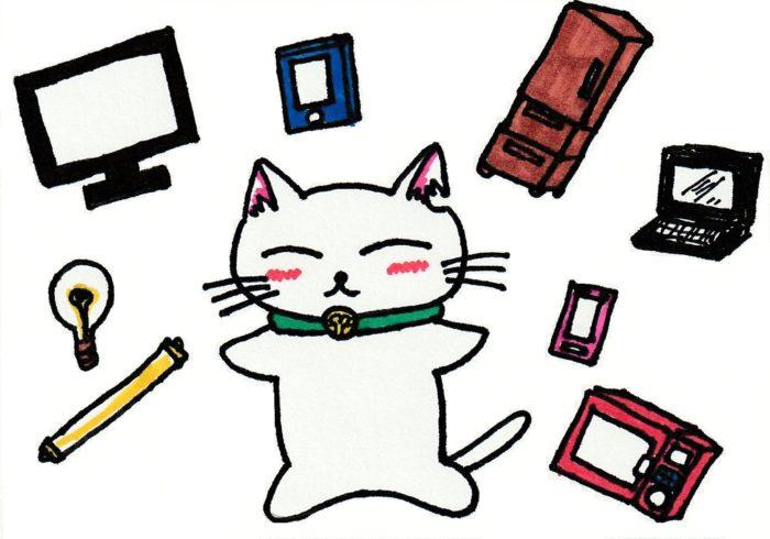 ションタの受付日記 『電子廃棄物も宝物』