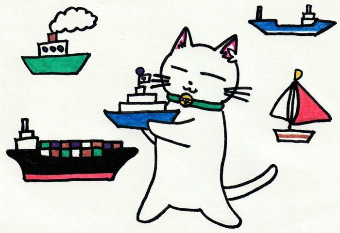 ションタの受付日記 『船籍って大事』