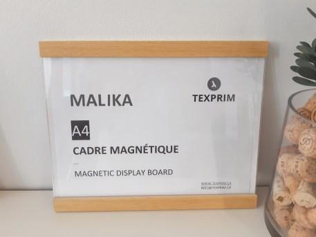 Cadre Magnétique Malika 11x8.5 Bois