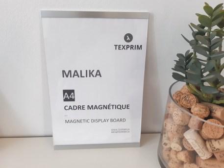 Cadre Magnétique Malika 8.5x11 Aluminium