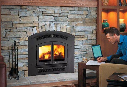 Regency Excalibur® EX90 Large Wood Fireplace
