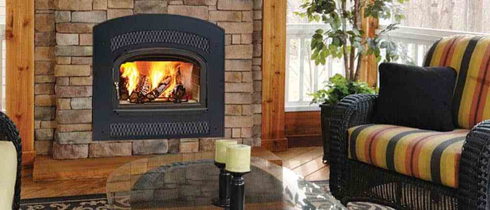 Stratton Wood Burning Fireplace