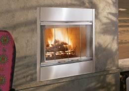 Al Fresco Wood Burning Outdoor Fireplace