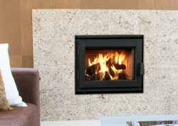 Ladera Wood Burning Fireplace by Astria Fireplaces