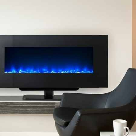 "SimpliFire-Wall-Mount Electric Fireplace-38""-Impressive-Climate-Control-Ottawa-740x559"