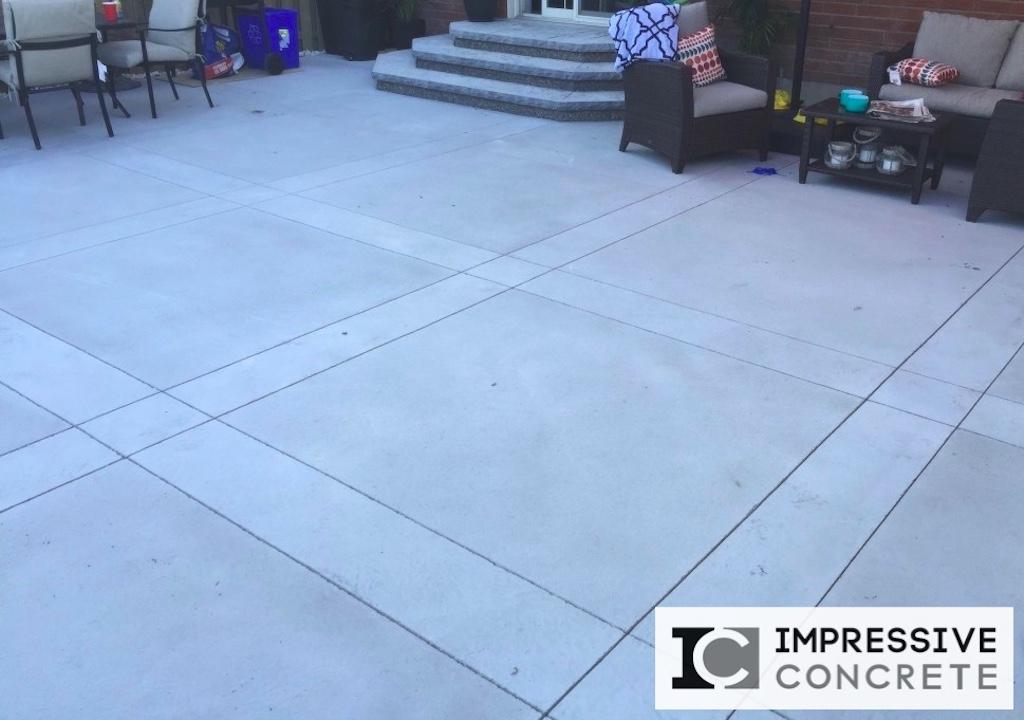 concrete patios portfolio impressive