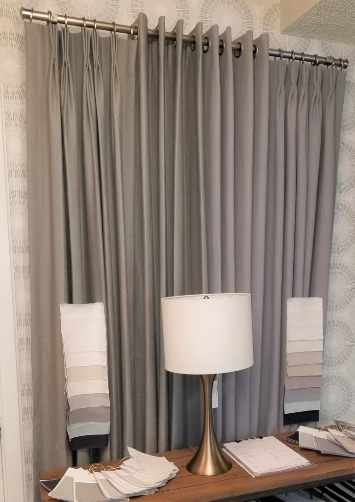 linen drapery panels