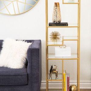 gold metal glass shelf Impressive Windows and Interiors Hastings MN