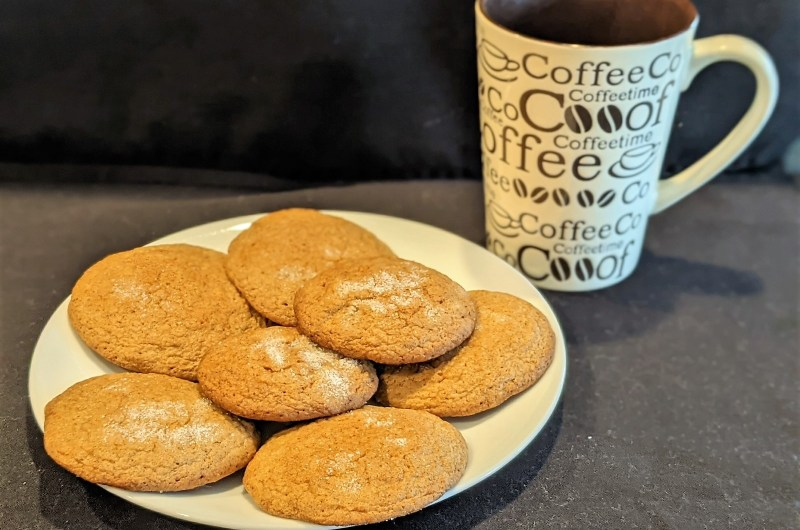 Cake Mix Gingerbread Cookies