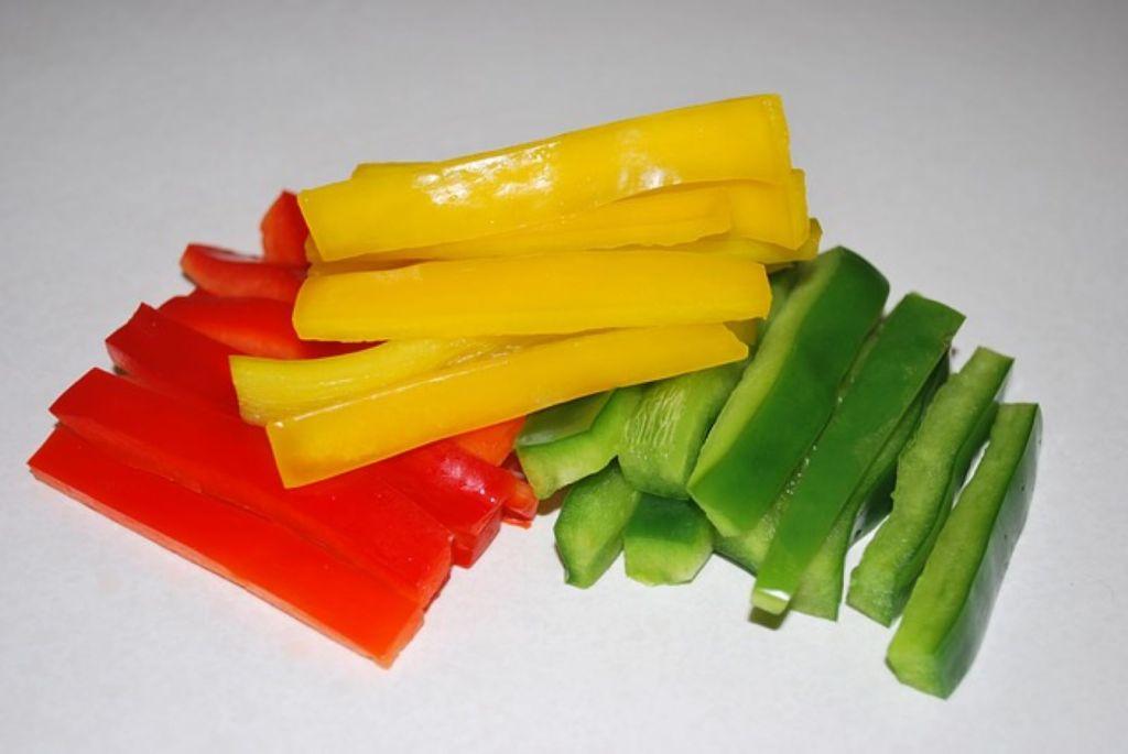 bell pepper slices