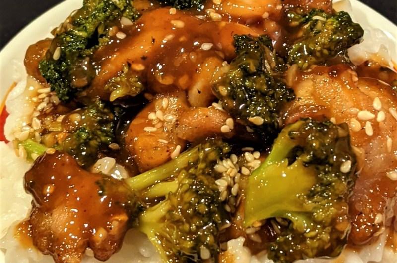 General Tso's Chicken with Broccoli