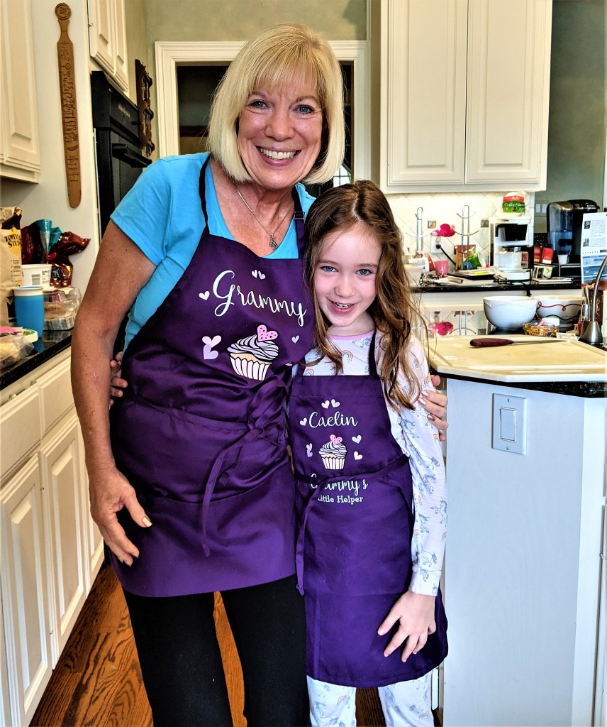 image of Grammy and her little helper
