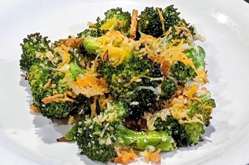 Easy Crispy Cheesy Roasted Broccoli